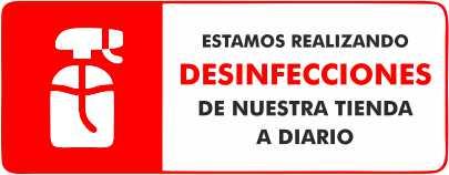 Desinfectamos MULTIPAPEL MAKRO PAPER ILLESCAS diariamente