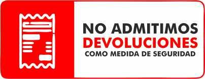 No admitimos devoluciones como seguridad en MULTIPAPEL MAKRO PAPER ILLESCAS
