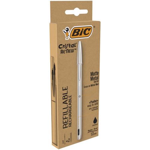 caja con 2 recambios de boli bic metal en multipapel