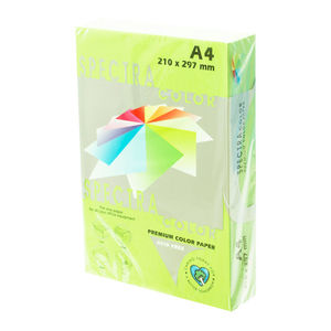 PLUS OFFICE PAPEL SPECTRA A4 80GR 500H VERD.CLARO IT190 A4/500 MAK001014