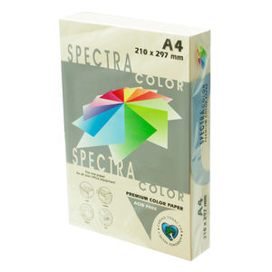 PLUS OFFICE PAPEL SPECTRA A4 80GR 500H MARFIL IT100 A4/500 MAK001015