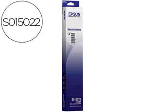 CINTA EPSON SO15022 NEGRO * C13S015022 MAK130253