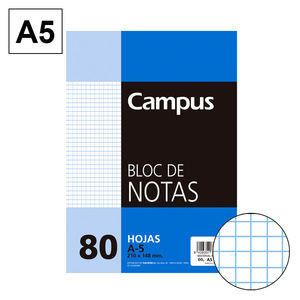 CAMPUS BLOC NOTAS A5 80H 60GR PERFORD CN 4MM 604241-36- MAK001112