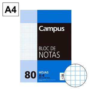 CAMPUS BLOC NOTAS A4 80H 60GR PERFORD CN 4MM 604279-31- MAK001116