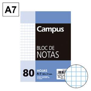 CAMPUS BLOC NOTAS A7 80H 60GR PERFORD CN 4MM 604165 MAK001118
