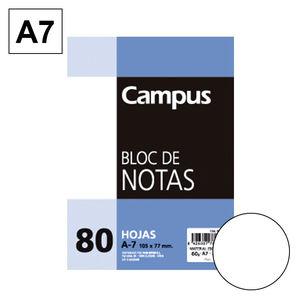 CAMPUS BLOC NOTAS A7 80H 60GR PERFORD LISO 604146-30- MAK001119
