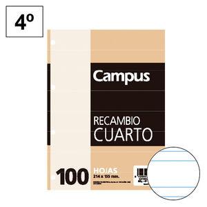 CAMPUS RECAMBIO 4º 100H 60GR 4TAL DP2,5MM -116- MAK001121
