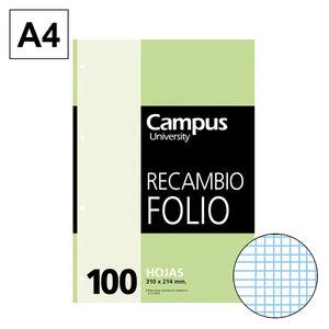 CAMPUS RECAMBIO Fº 100H 60GR MULTITAL. MM 21143 MAK001130