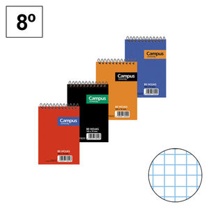 CAMPUS BLOC 8º 80H T.BASICA APAIS.60G CN4MM 001137 MAK001137