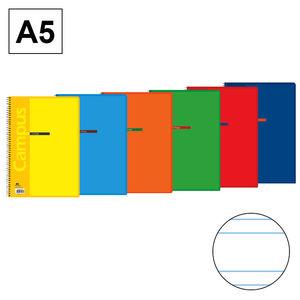 CAMPUS BLOC A5 80/H T.BASICA 60G 2DP 2,5MM 001146-17- MAK001146