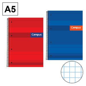 CAMPUS BLOC A5 160/H T.EXTD 70GR CN 5MM PERF 1167-40 MAK001167