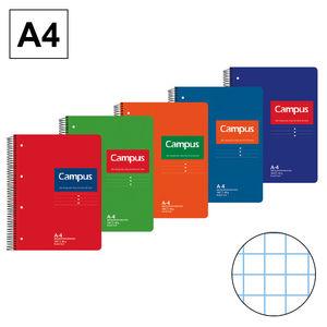 CAMPUS BLOC A4 160/H T.DURA 60GR CN5MM PERFO 001168-38 MAK001168