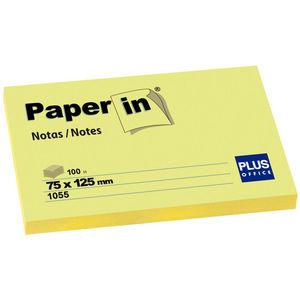 CAMPUS NOTA ADH.PAPER-IN 75X125 100H AMARILL 30500 MAK001207