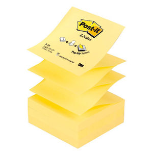 3M MMM NOTA ADH.POST-IT 76X76 Z-NOTES AMARIL R-330 MAK001216