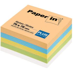 CAMPUS NOTA ADH.PAPER-IN 75X75 300H PASTEL 30308 MAK001221