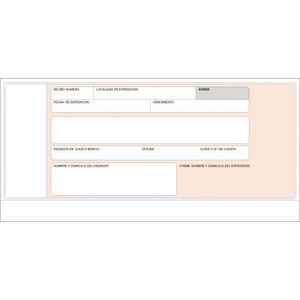 PLUS OFFICE TALONARIO MK RECIBOS NORMALIZAD.BANCO T19 MAK001376