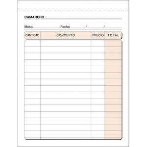 CAMPUS TALONARIO MK CAMARERO 8º NAT.TRIPLICA T89 MAK001410
