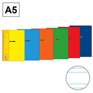 CAMPUS BLOC A5 80/H T.BASICA 80G DP 3,5MM 001562-18- MAK001562