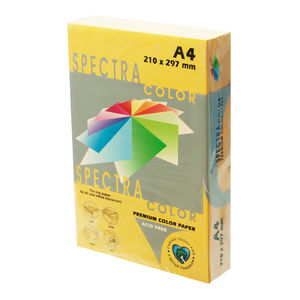 PLUS OFFICE PAPEL SPECTRA A4 80GR 500H AMARIL.ORO IT200 A4/500 MAK001579