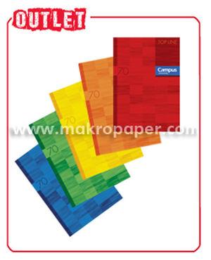 CAMPUS LIBRETA A4 GRAPADA 48H 70GR CN4MM 1600-24 MAK001600