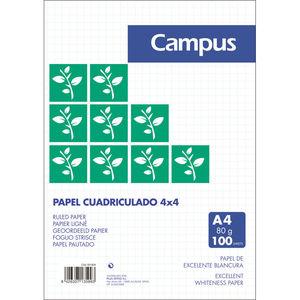 CAMPUS PAPEL CAMPUS A4 CN-4MM 80G/100H -33- MAK001604