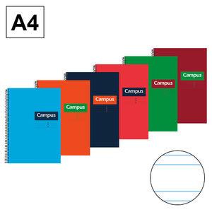 CAMPUS BLOC A4 80/H T.DURA 70GR DP 3,5MM 0014975-3- MAK001665