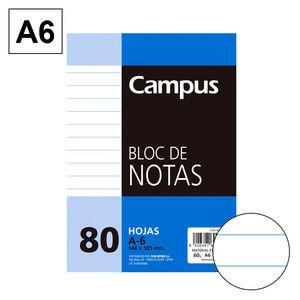 CAMPUS BLOC NOTAS A6 80H 60GR PERFORD HN 001975 MAK001975