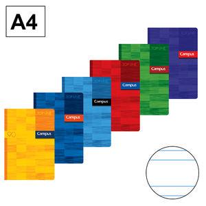 CAMPUS LIBRETA A4 GRAPADA 48H 90GR PT 2,5MM 48H A4 90H DP MAK002164