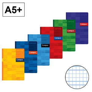 CAMPUS LIBRETA A5+ GRAPADA 48H 90GR C.M.-3MM 002208 MAK002208