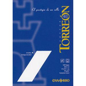 FILA PAPEL GUARRO A4 TORREON BLANCO 100H 200400684 MAK002276