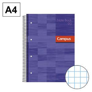 CAMPUS BLOC A4 80H T.EXTD 90G PERF CN5MM VIO 002302-VIOLET MAK002302