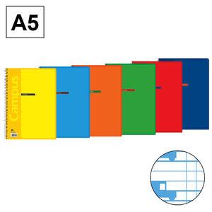 CAMPUS BLOC A5 80/H T.BASICA 70G C.M. 4MM 002367-76 MAK002367