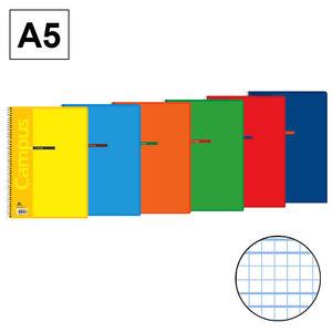 CAMPUS BLOC A5 80/H T.BASICA 70G C.M. 3MM 002368-77 MAK002368