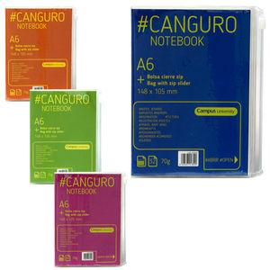 CAMPUS LIBRETA A6 CANGURO 70G 32H HN COL.SUR CJP-120-15 MAK002530