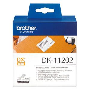 ETIQUETAS BROTHER QL 62X100 300U DK11202 MAK002819