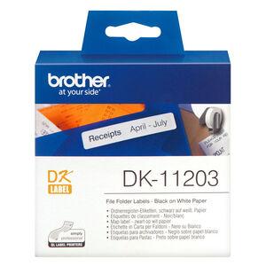ETIQUETAS BROTHER QL 17X87 300U DK11203 MAK002820