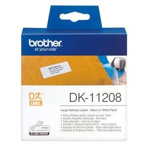 ETIQUETAS BROTHER QL 38X90 400U DK11208 MAK002822