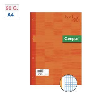 CAMPUS RECAMBIO A4 80H 90G 4T.CN5 TAPA NARAN NARANJA MAK002829
