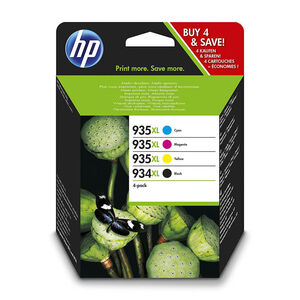 CARTUCHO HP 934+935XL PK4 BK/CY/MG/AM X4E14AE MAK165930