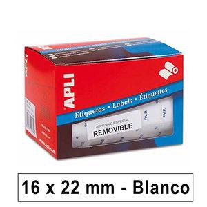 APLI ETIQUETAS ROLLO APLI 16X22 PVP REMV. 10087 MAK029132