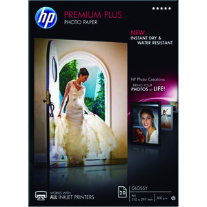PAPEL PHOTO HP A4 PREMIUM 300G 20H CR672A MAK029302