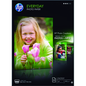 PAPEL PHOTO HP A4 INKJET 200G 100H Q2510A MAK029342