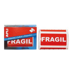 APLI ETIQUETAS ROLLO APLI FRAGIL/200U 00296 MAK029356