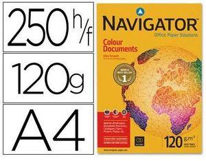 PAPEL NAVIGATOR A4 120GR. BLANCO PAQUETE 250HOJAS 029996
