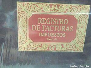 MIQUELRIUS LIBRO REGISTRO FACTURAS IMPUESTOS 44 5044 MAK035024