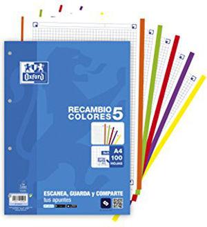 OXFORD RECAMBIO ESCO.A4 OXFORD HN 100430210 MAK035032