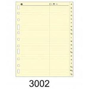 MULTIFIN INDICE SEÑALIZACION 4°NATURAL 3002 4325206 CART. MAK035090