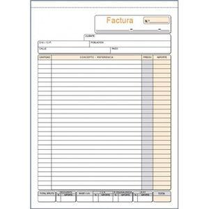PLUS OFFICE TALONARIO F FACTURA N TRIP T93 T93 MAK035098