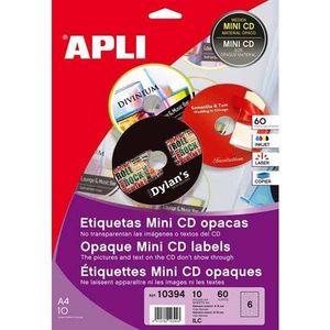 APLI ETIQUETA ADH FOT 10394 CD MINI 10394 MAK035123