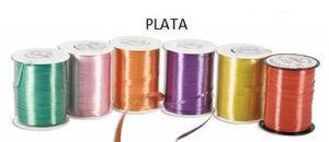MAKRO PAPER CINTA LAZOS 455X5 CARRETE PLAT 1000 PLATA MAK035157